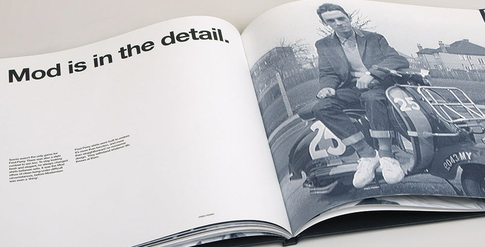 Fred Perry book