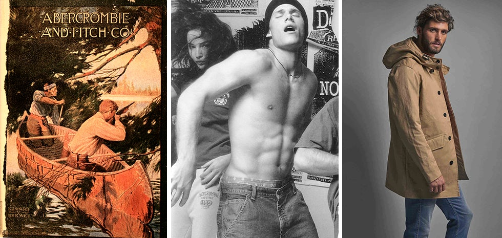 Abercrombie & Fitch advert evolution