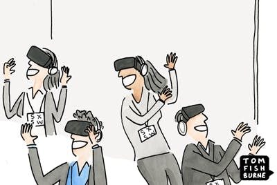 Living in a virtual world marketoonist 23 3 16