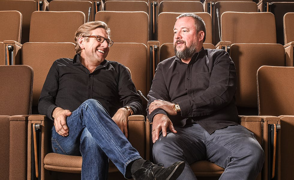 Keith Weed and Shane Smith