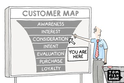 The Customer Map, Marketoonist