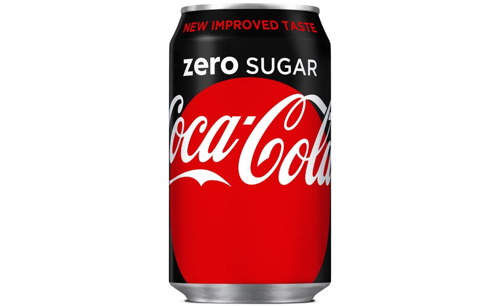 coke zero gets 10m revamp as coca cola aligns products behind one brand 39 strategy marketing week. Black Bedroom Furniture Sets. Home Design Ideas