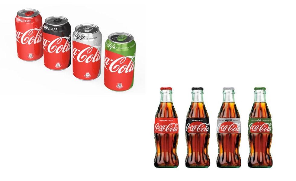 Coca-Cola redesign