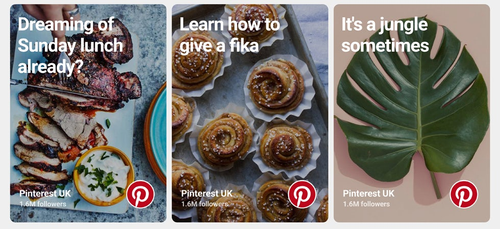 Pinterest TV ad