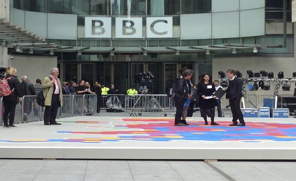 The BBC says it has used trust and integrity in its news output to boost its brand value