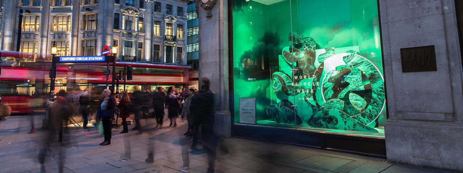 H&M shop window