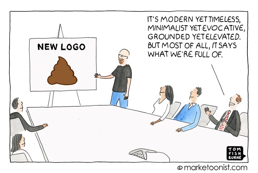 Rebranding Marketoonist