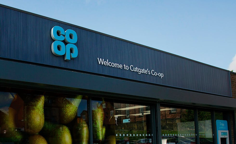 Co-op supermarket