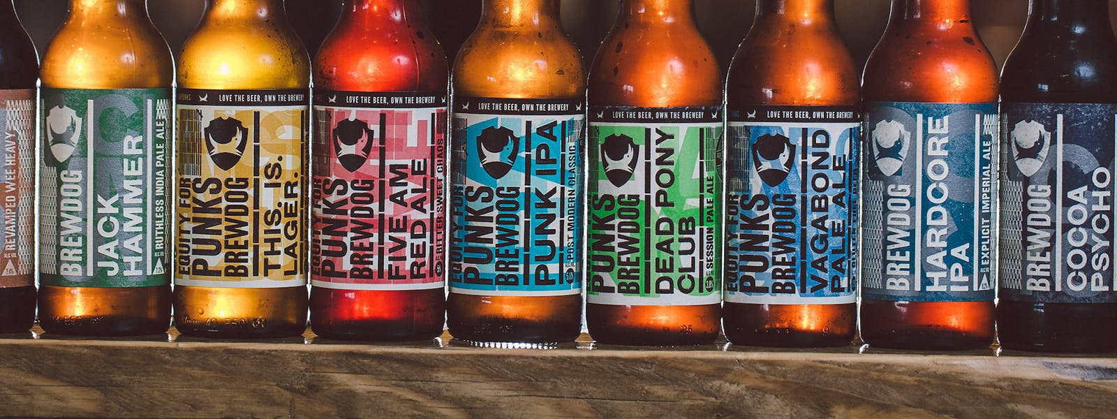 Brewdog bottle labels