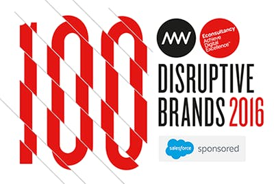 100 Disruptive brands