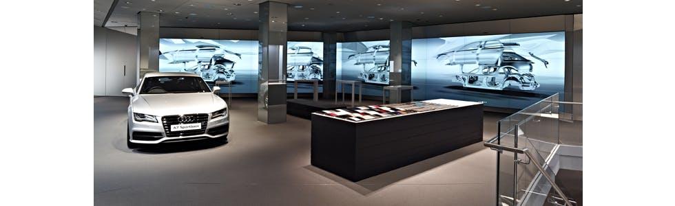Audi VR showroom
