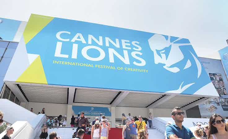 Cannes Lions entrance