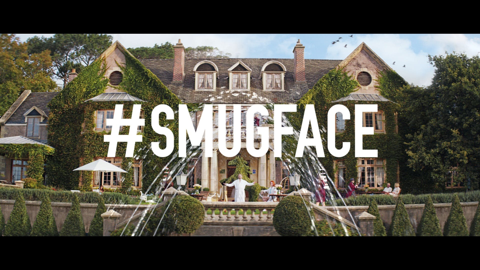 Secret Escapes #Smugface campaign for the UK market represents the second stage of driving awareness.