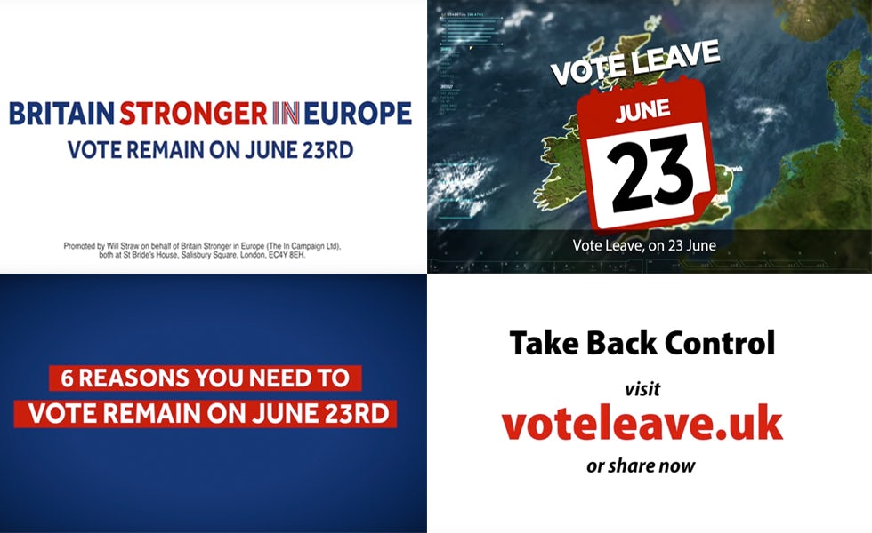 Vote leave, Brexit