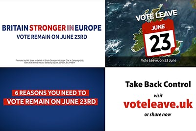 Vote leave, Brexit