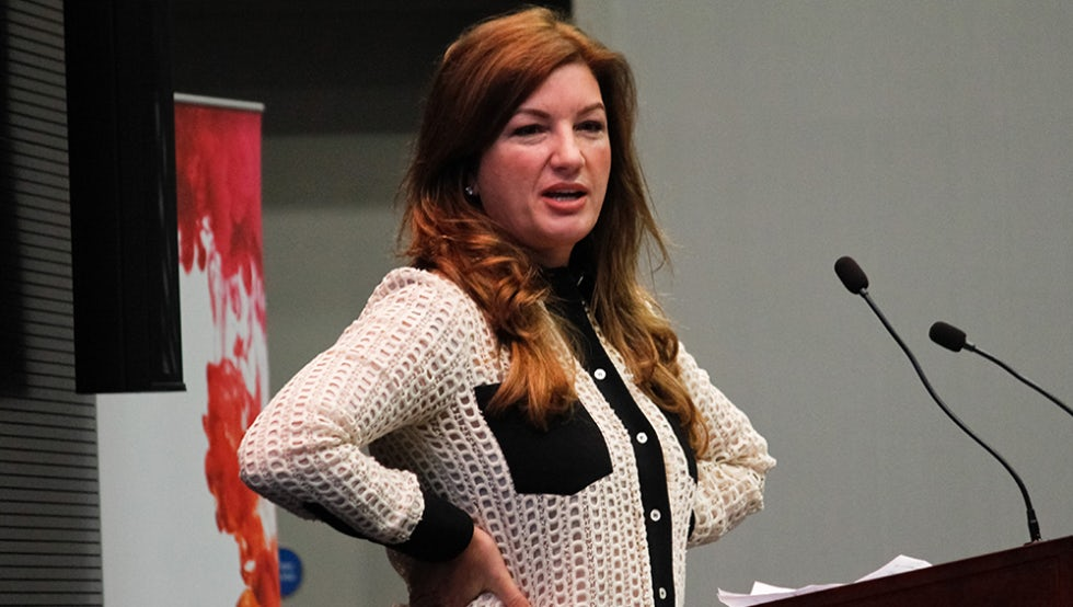 Businesswoman Karren Brady, who spoke at Dive In last year, was awarded a CBE for services to women in business and entrepreneurship in 2013.