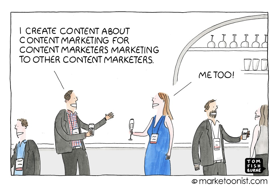 The Marketing Echo Chamber, Marketoonist