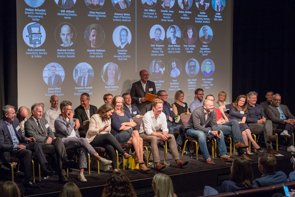 'Team Client' (left_ and 'Team Agency' face off at Oystercatchers' Future of Pitching event