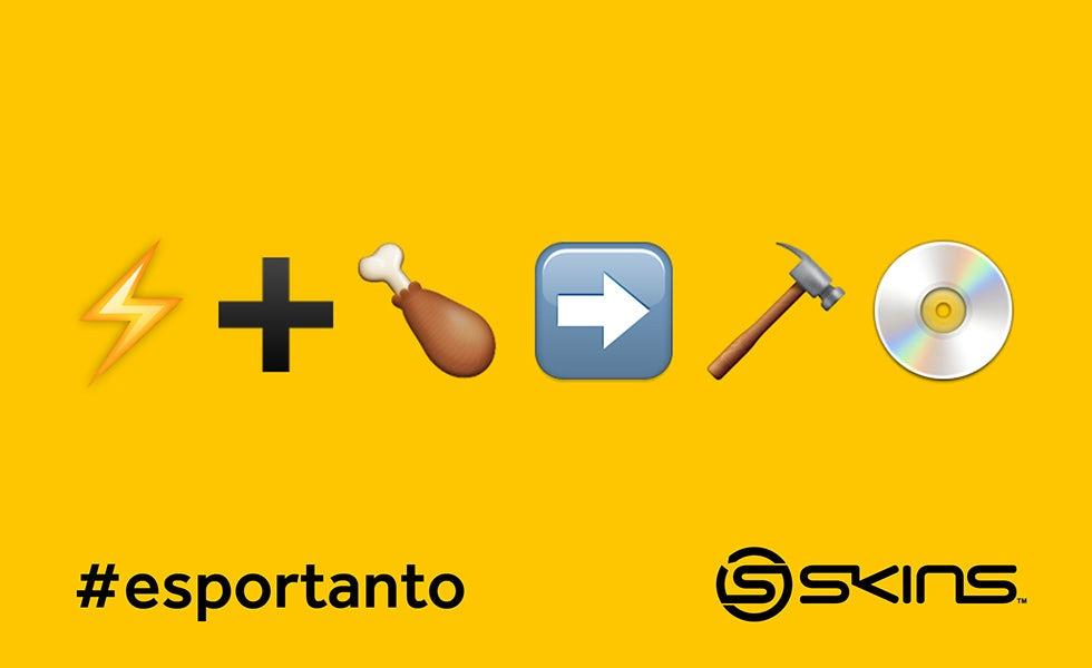 Emoji olympic games esportanto sport skins