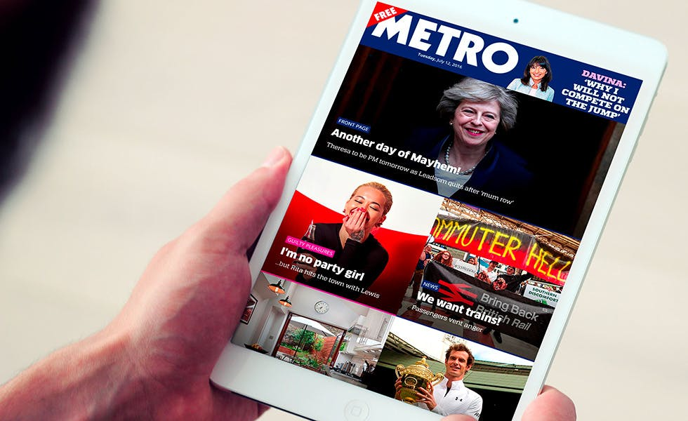 Metro native app