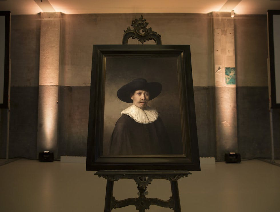 Microsoft used data to come up with Rembrandt's next painting
