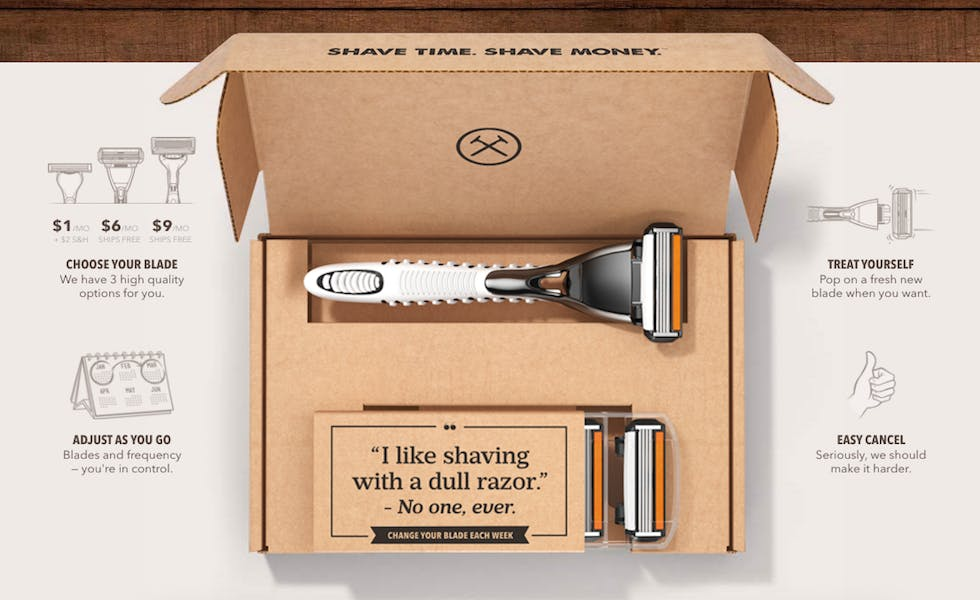Unilever has bought subscription shaving service Dollar Shave Club