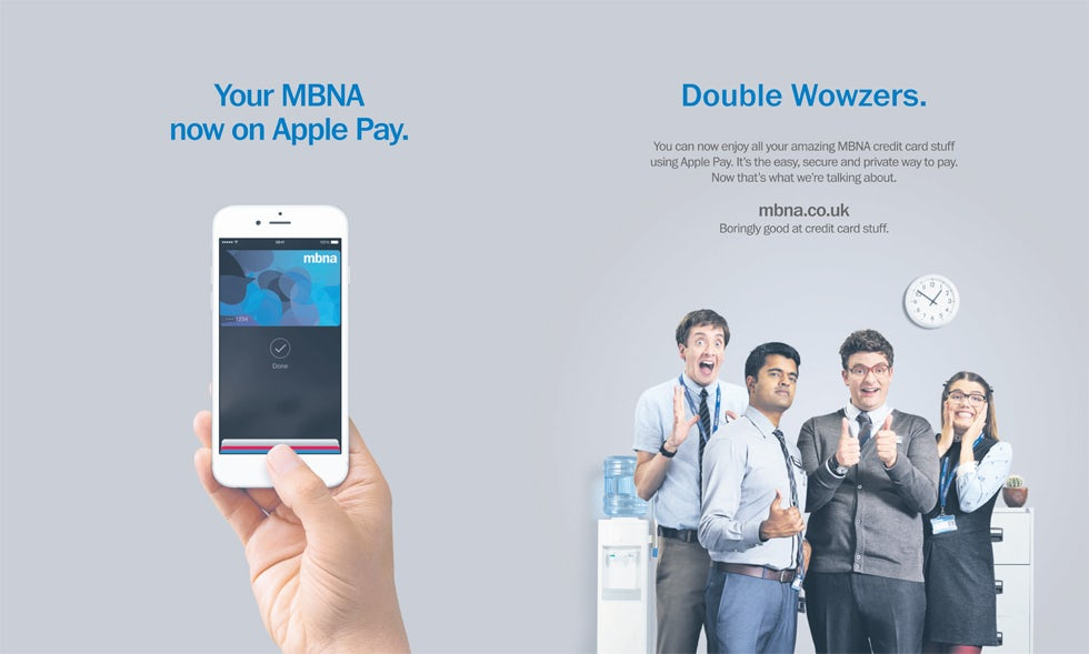 How credit card provider mbna is integrating social data to build how important is integrating social data into ad targeting reheart Image collections