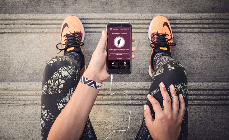 How Nike and Spotify joined forces to connect online with