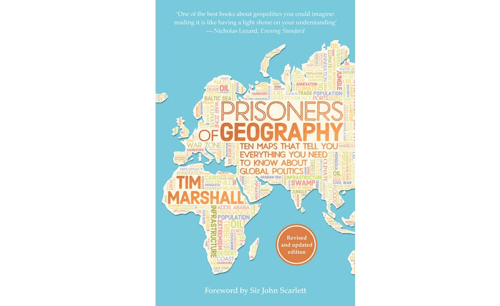 Tanya Joseph recommends Tim Marshall's 'Prisoners of Geography'