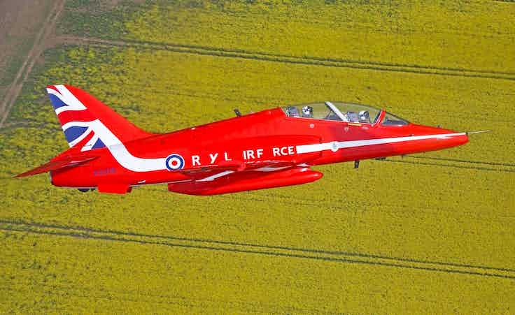 The Royal Air Force has lost its As and Os in support of the NHS Blood and Transplant campaign Missing Type