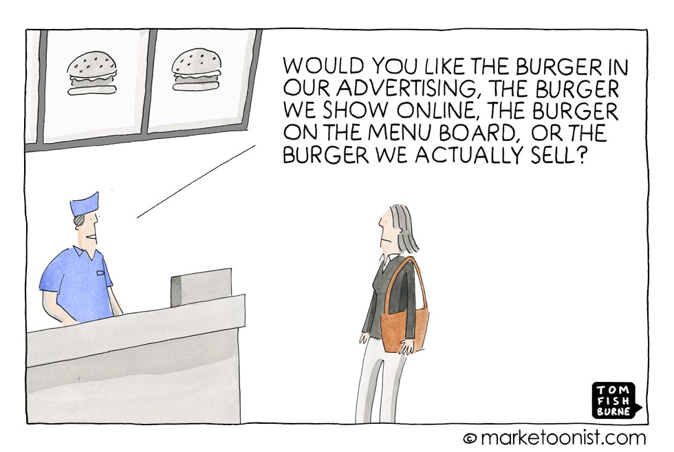 Product Choices, Marketoonist