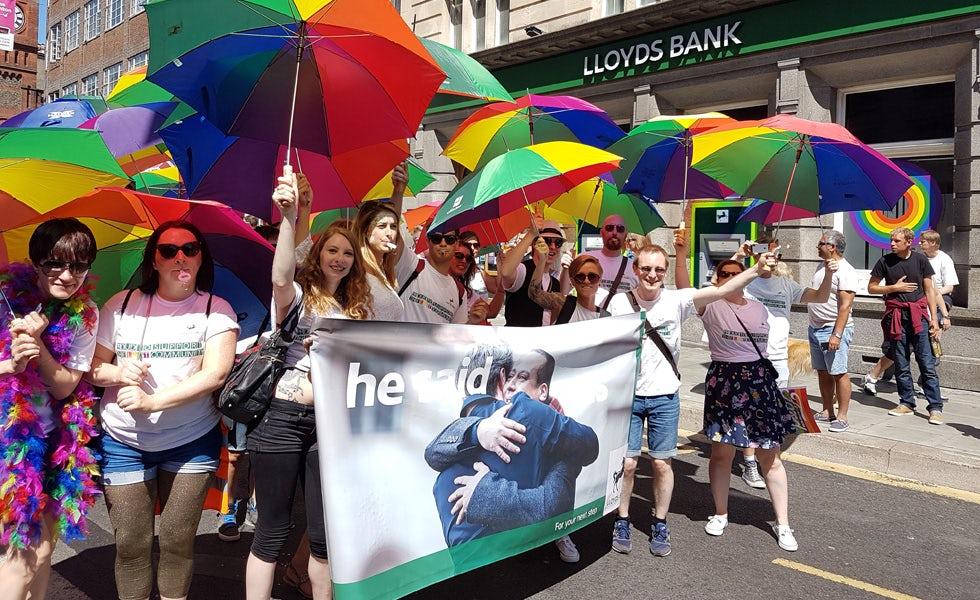 Lloyds LGBT diversity pride