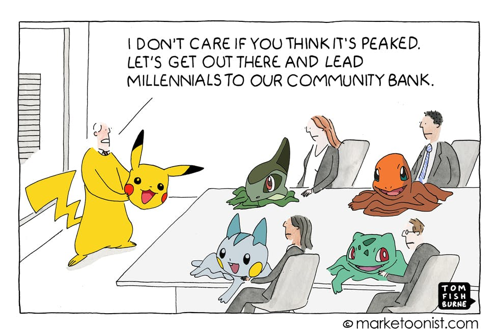 Pokemon Go Marketoonist