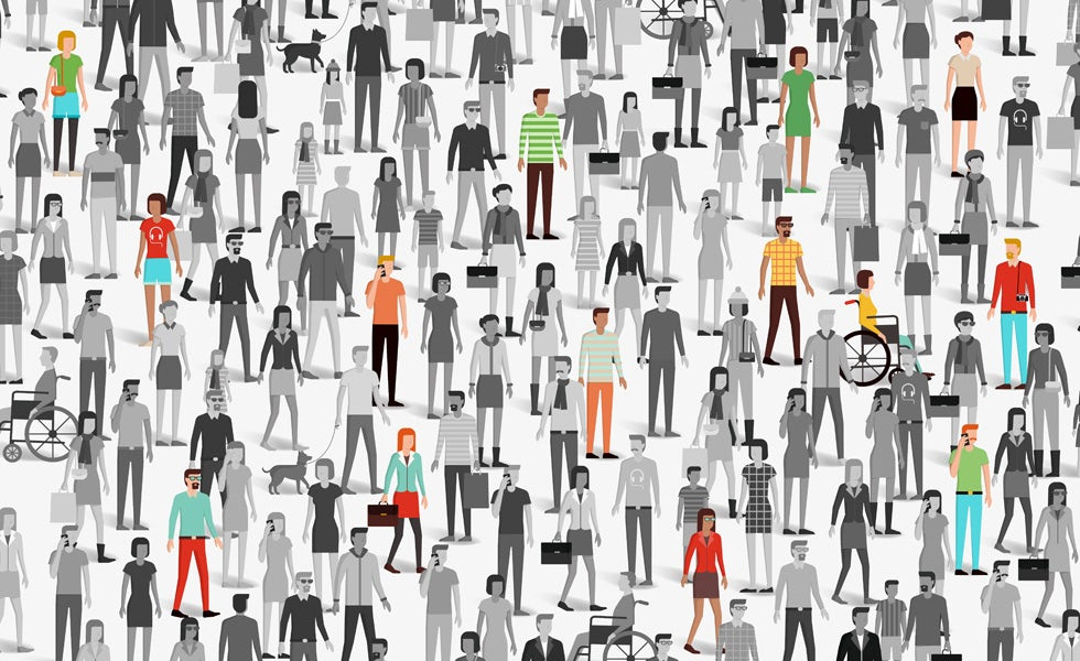 Demographic segmentation behaviour crowd