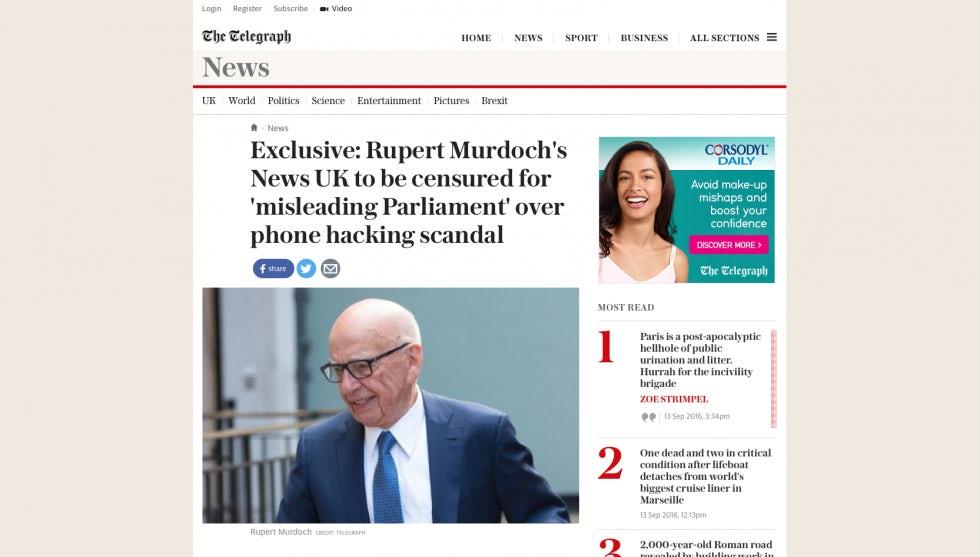 Telegraph screenshot Sep 2016