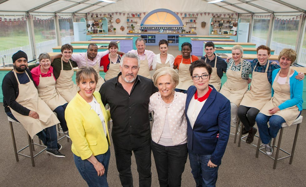 The 2016 contestants of the Great British Bake Off