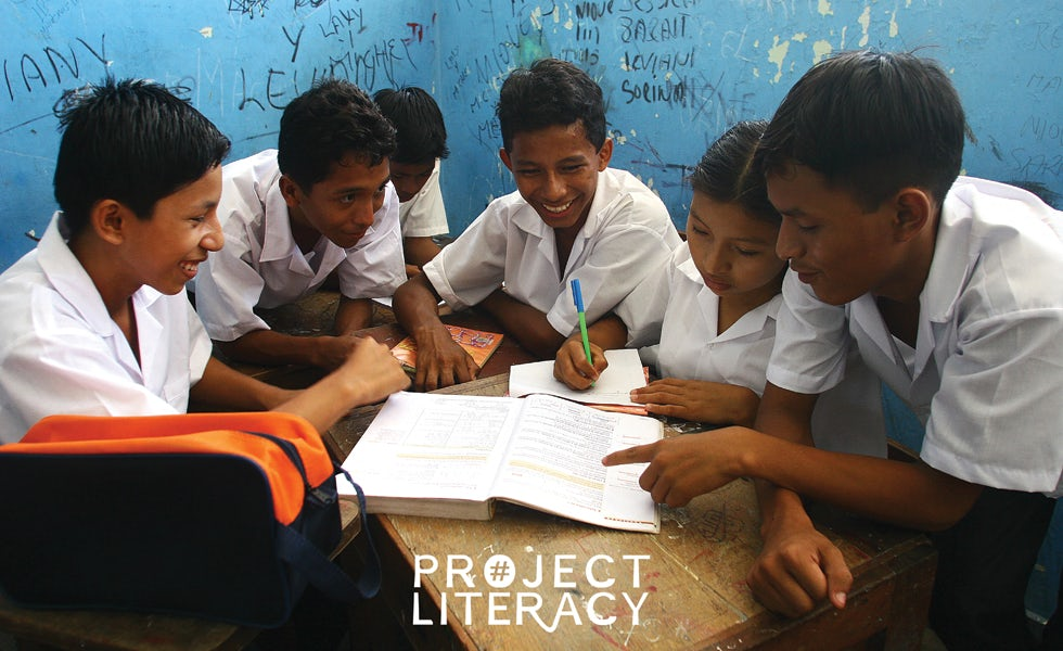 Publisher Pearson takes sixth place in Radley Yeldar's 2016 brand purpose ranking thanks to initiatives like Project Literacy.