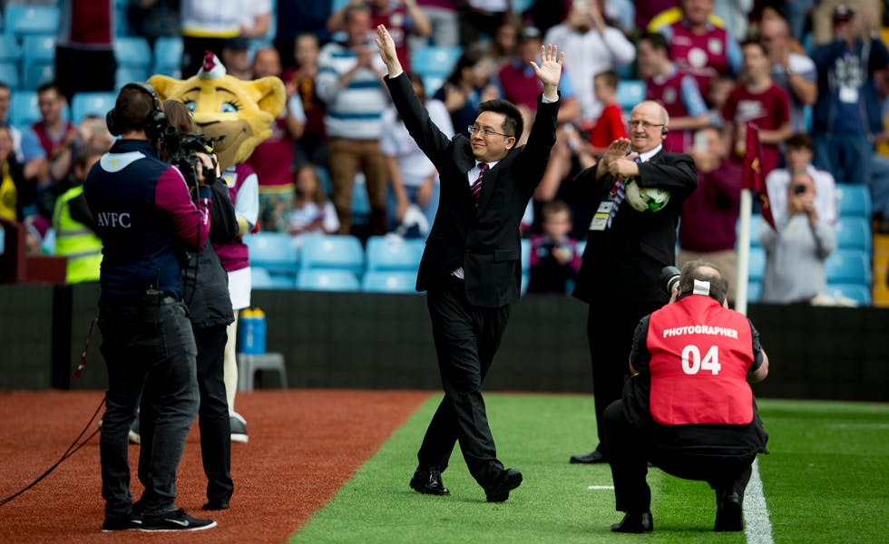 Dr Tony Xia, the owner of Chinese logistics and supply chain firm the Recon Group, bought Aston Villa in June.