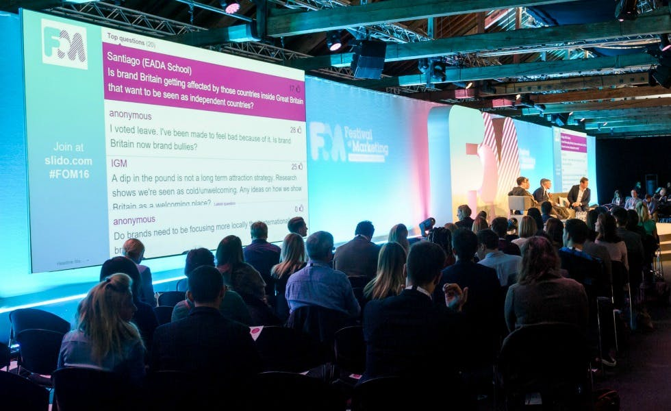 Festival of Marketing 2016: The top takeaways from L'Oreal, Amnesty and Digital Spy - Marketing Week