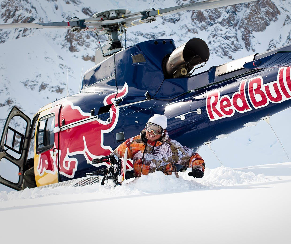 Travis Rice, Red Bull, Alaska