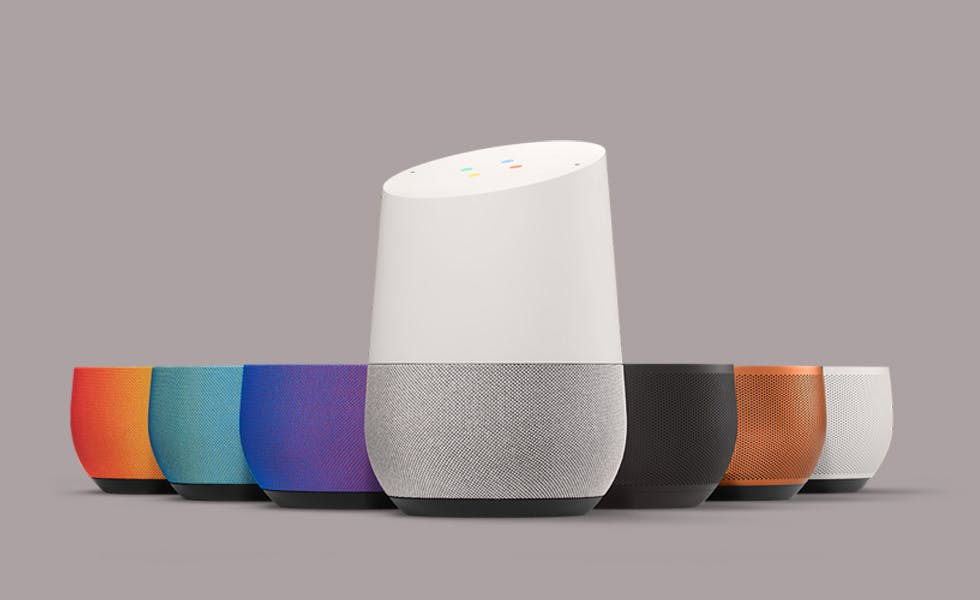 Google Home is compatible with existing Google smart products like Chromecast and the Nest thermostat.