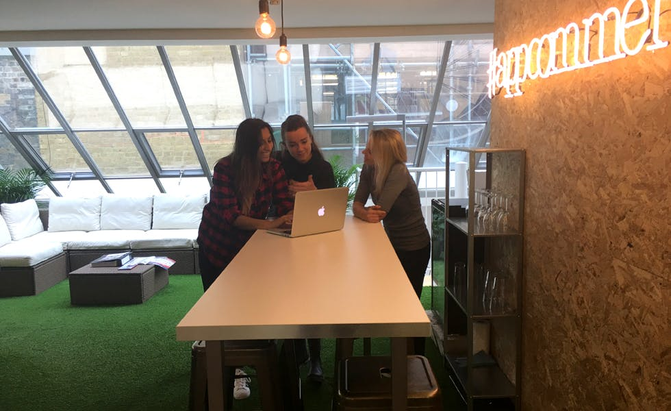 Getting the right office vibe is crucial for driving creativity at Poq.