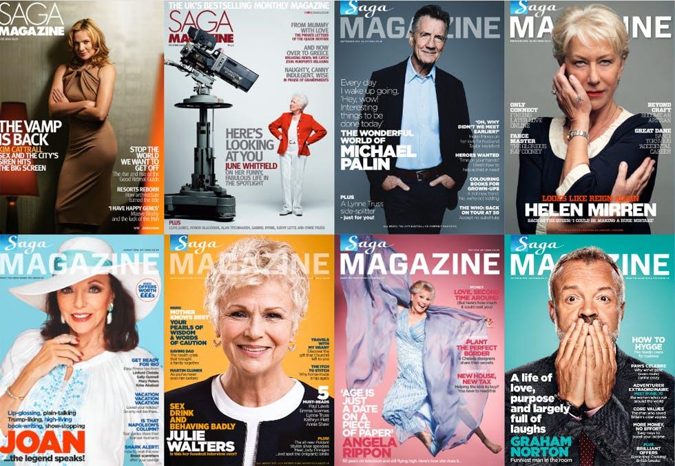 Saga magazines