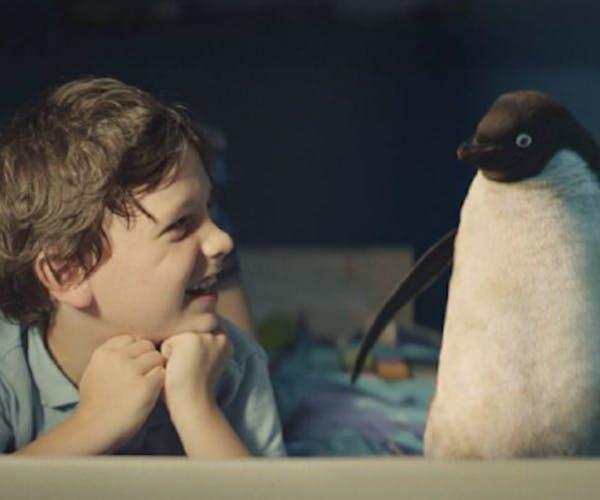 John Lewis penguin Christmas