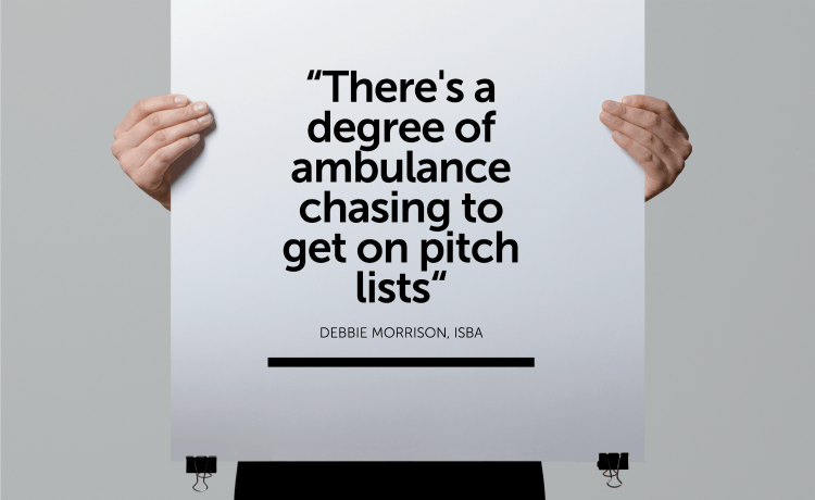 agencies pitch isba