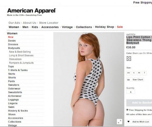 American Apparel under-18