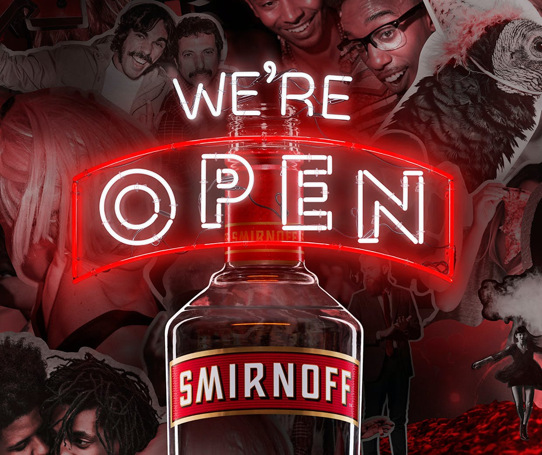 Diageo brand Smirnoff