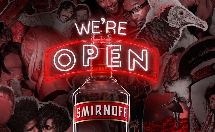 Smirnoff Diageo brand
