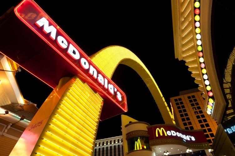 Article pic McDonald's Las Vegas