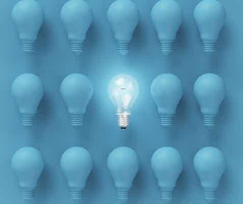 simple lightbulb